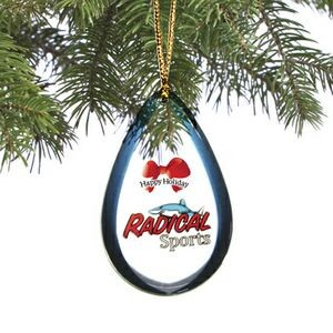 Holiday Shatterproof Ornament (5.1 to 6 Square Inch - Double Sided Dome)